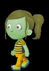 Green Hair Princess