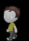 bigheadgrayskinbee