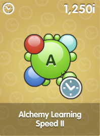Alchemy Learning Speed II