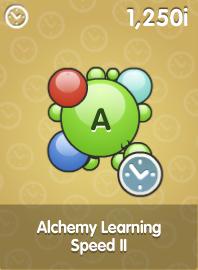 Alchemy Learning Speed II
