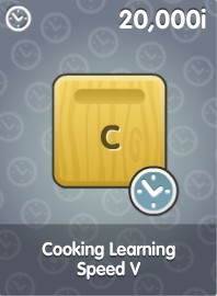 Cooking Learning Speed V