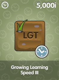 Growing Learning Speed III