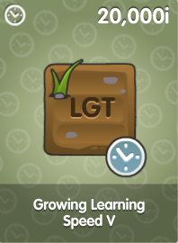 Growing Learning Speed V