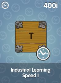 Industrial Learning Speed I