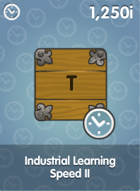 Industrial Learning Speed II