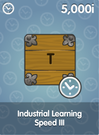 Industrial Learning Speed III