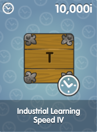 Industrial Learning Speed IV