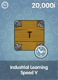 Industrial Learning Speed V
