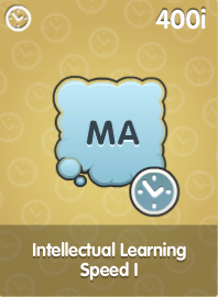Intellectual Learning Speed I