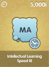 Intellectual Learning Speed III