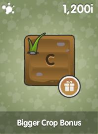 Bigger Crop Bonus