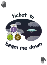 Ticket To Beam Me Down